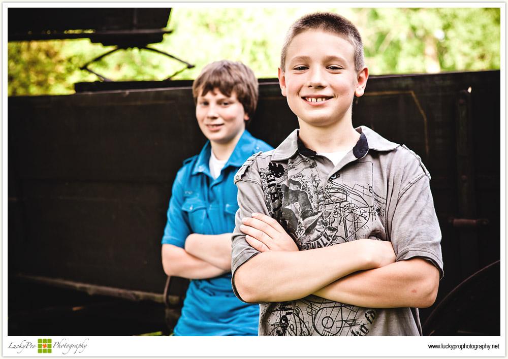 Brad and Derek Lifestyle Portraits