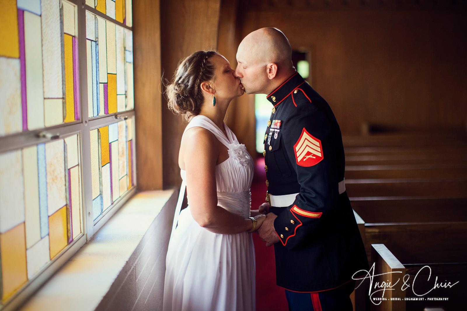 Danae & Dustin Oglesby Wedding